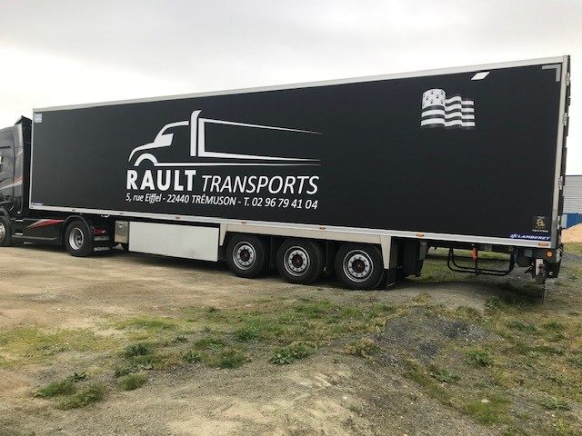 transport frigorifique à Saint-Brieuc