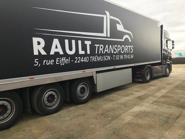transport alimentaire à Saint-Brieuc